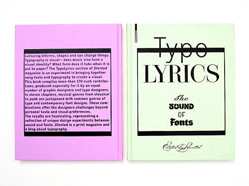 TypoLyrics – The Sound of Fonts   Slanted - Typo Weblog und