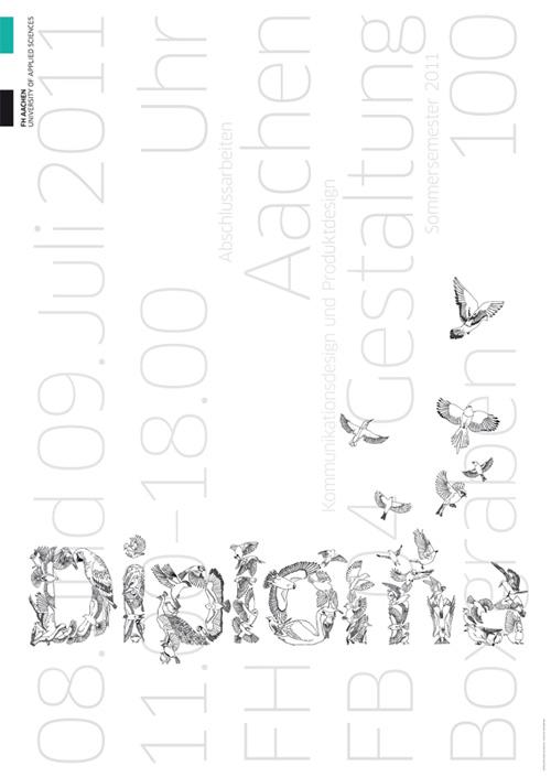 Werkschauen im juli 2011 slanted typo weblog und magazin for Produktdesign fh