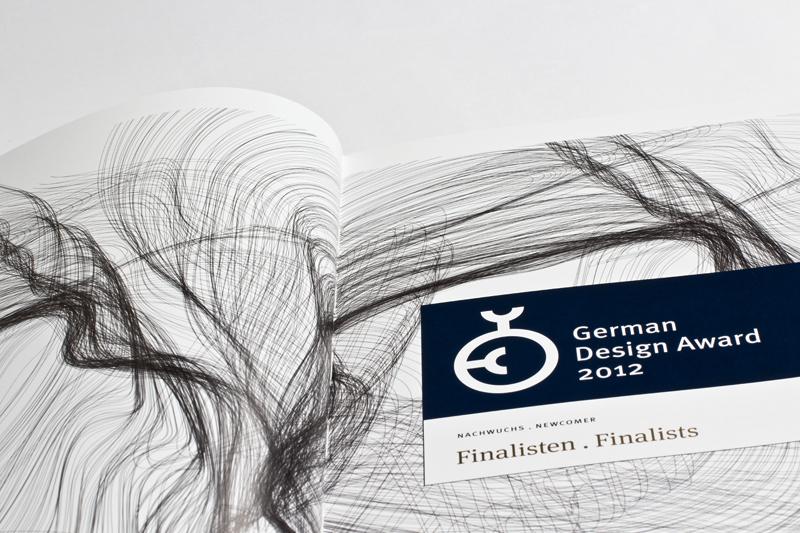 German design award 2012 slanted typo weblog und magazin for Frank zebner