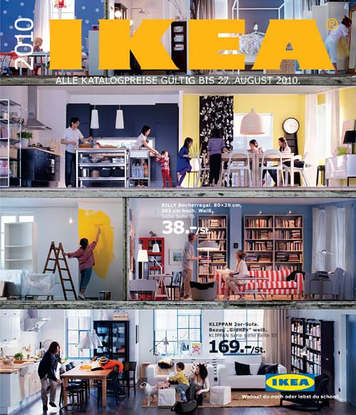 ikea katalog 2010 slanted typo weblog und magazin. Black Bedroom Furniture Sets. Home Design Ideas