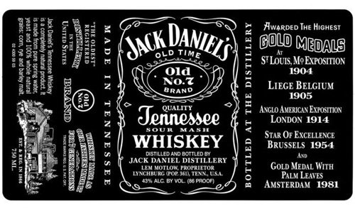 jack daniels custom fonts slanted typo weblog und magazin. Black Bedroom Furniture Sets. Home Design Ideas