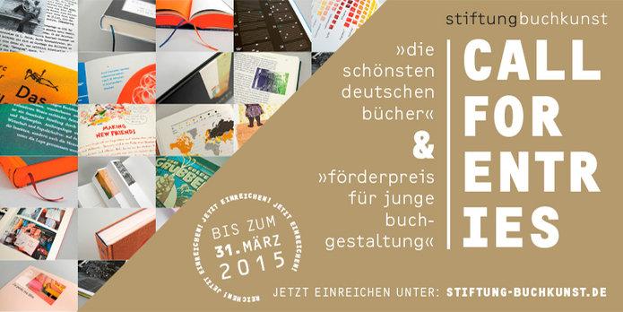 Die schönsten deutschen Bücher / Förderpreis für junge Buchgestaltung