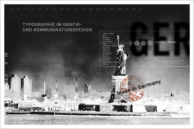 Seminar typographie im grafik und kommunikationsdesign for Grafik und kommunikationsdesign