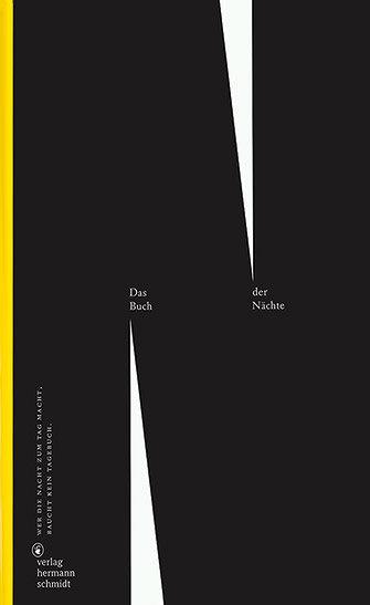 Shop - Das Buch der Nächte – Wer die Nacht zum Tag macht, braucht kein Tagebuch | Slanted - Typo Weblog und Magazin