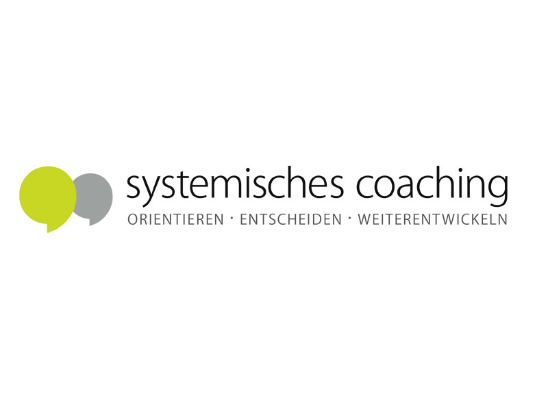 Systemisches Coaching Corporate Design Slanted