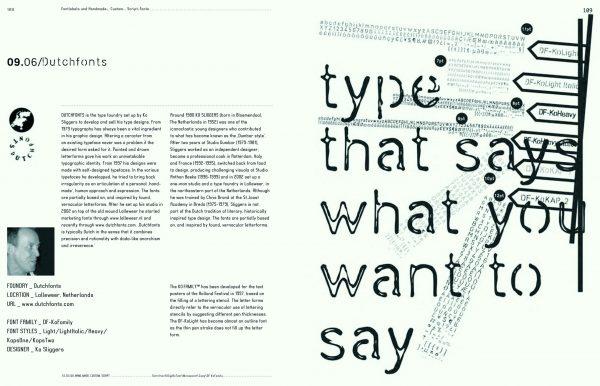 Slanted Magazin #3 – Handmade, Custom, Script