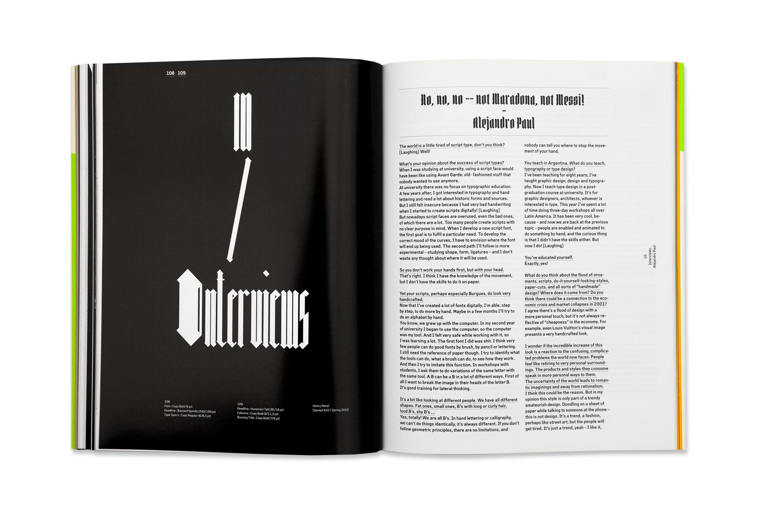 Slanted Magazine #10 – Heavy Metal. Lovers.