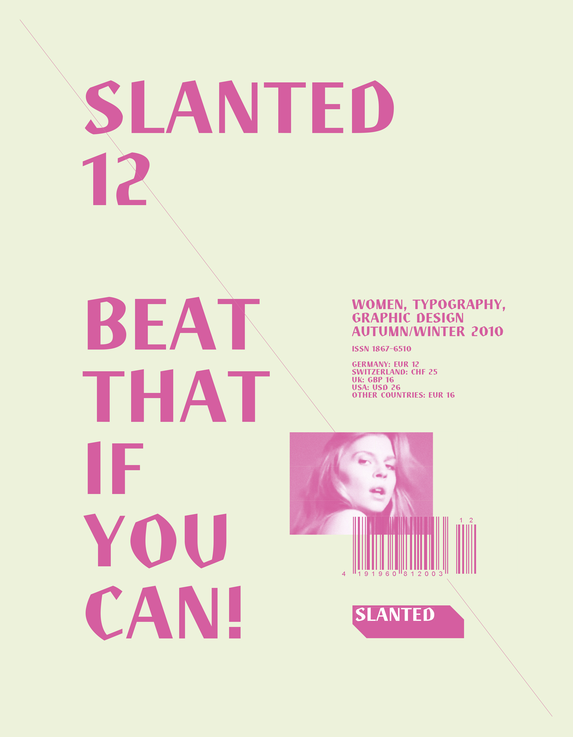 Slanted Magazin #12 – Women, Typography, Graphic Design
