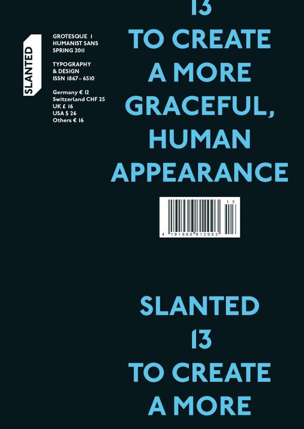 Slanted Magazin #13 – Grotesque 1