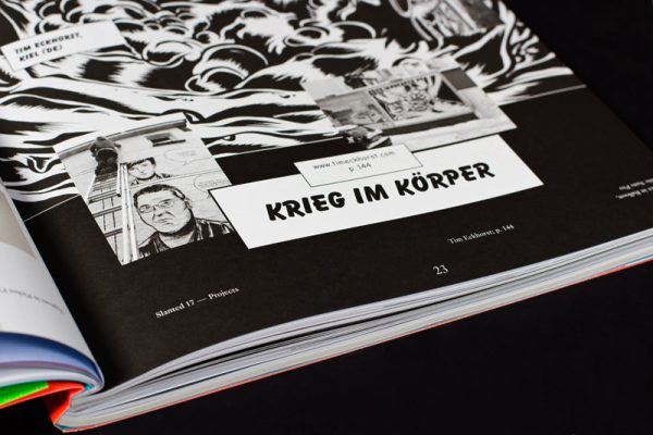 Slanted Magazin #17 – Cartoon / Comic