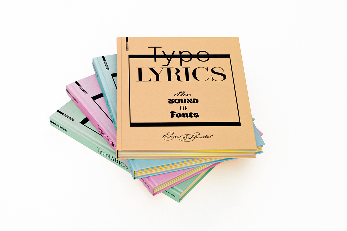 Slanted TypoLyrics