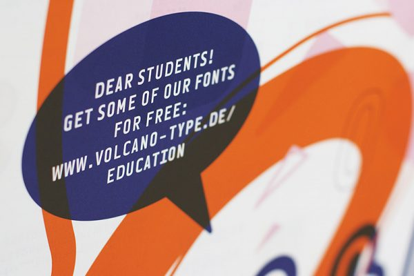VolcanoType – Education Font Poster #1