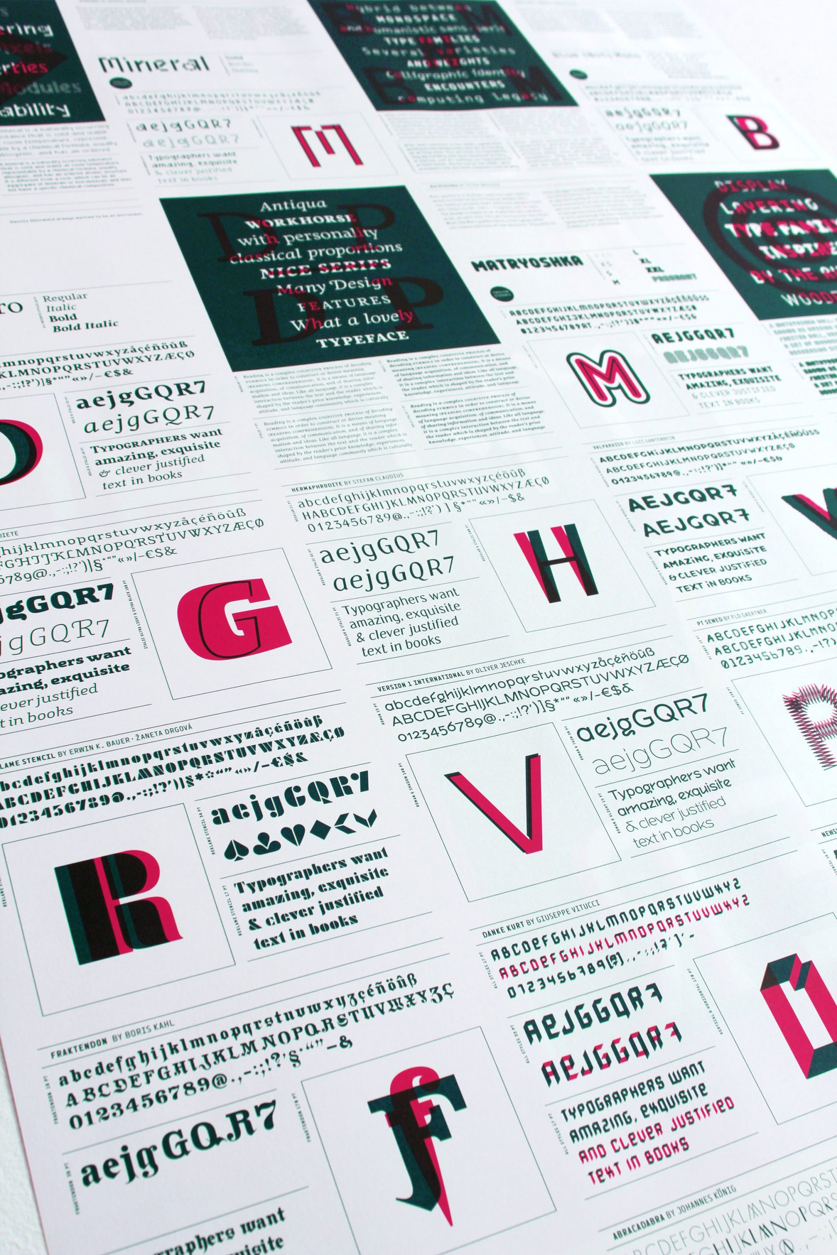 VolcanoType – Education Font Poster #2