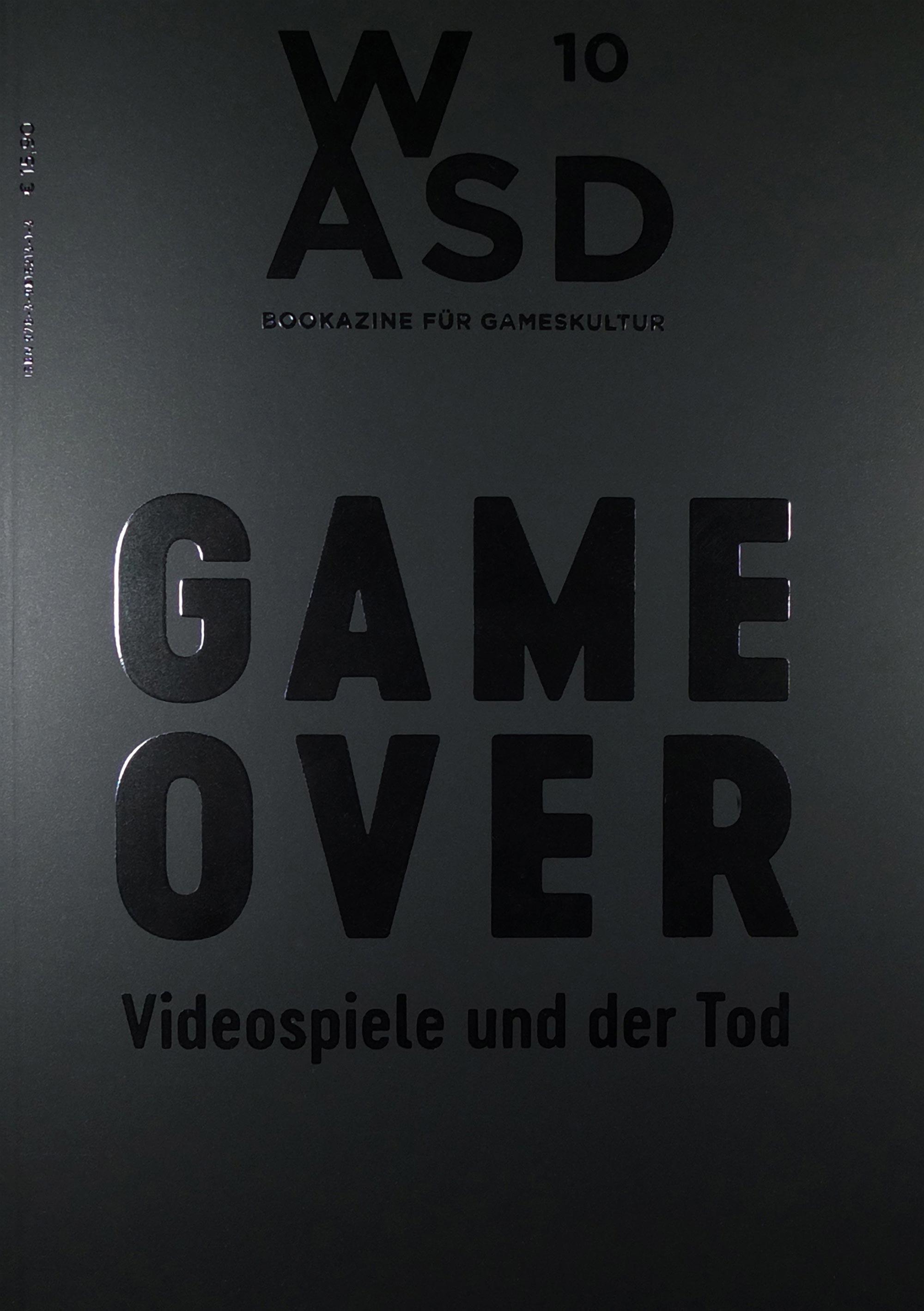 WASD #10 – Bookazine für Gameskultur