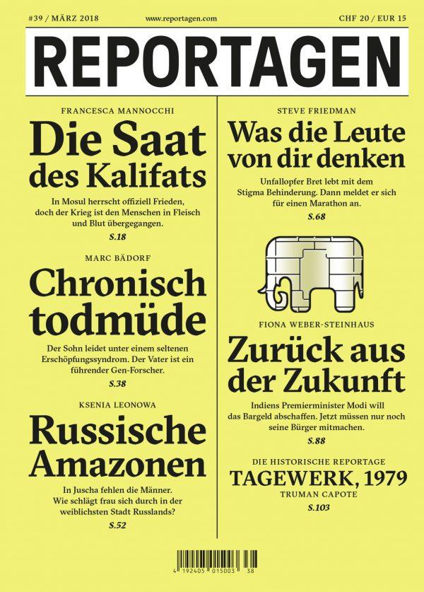 Reportagen Magazin 39