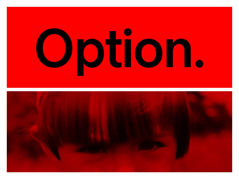 Typeface of the Month: Option / by Jan Matoušek