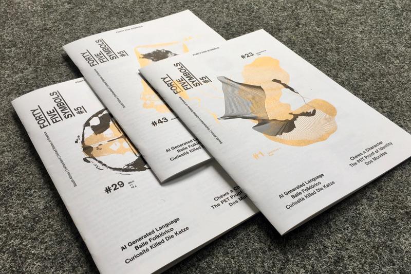 45 Symbols Magazin