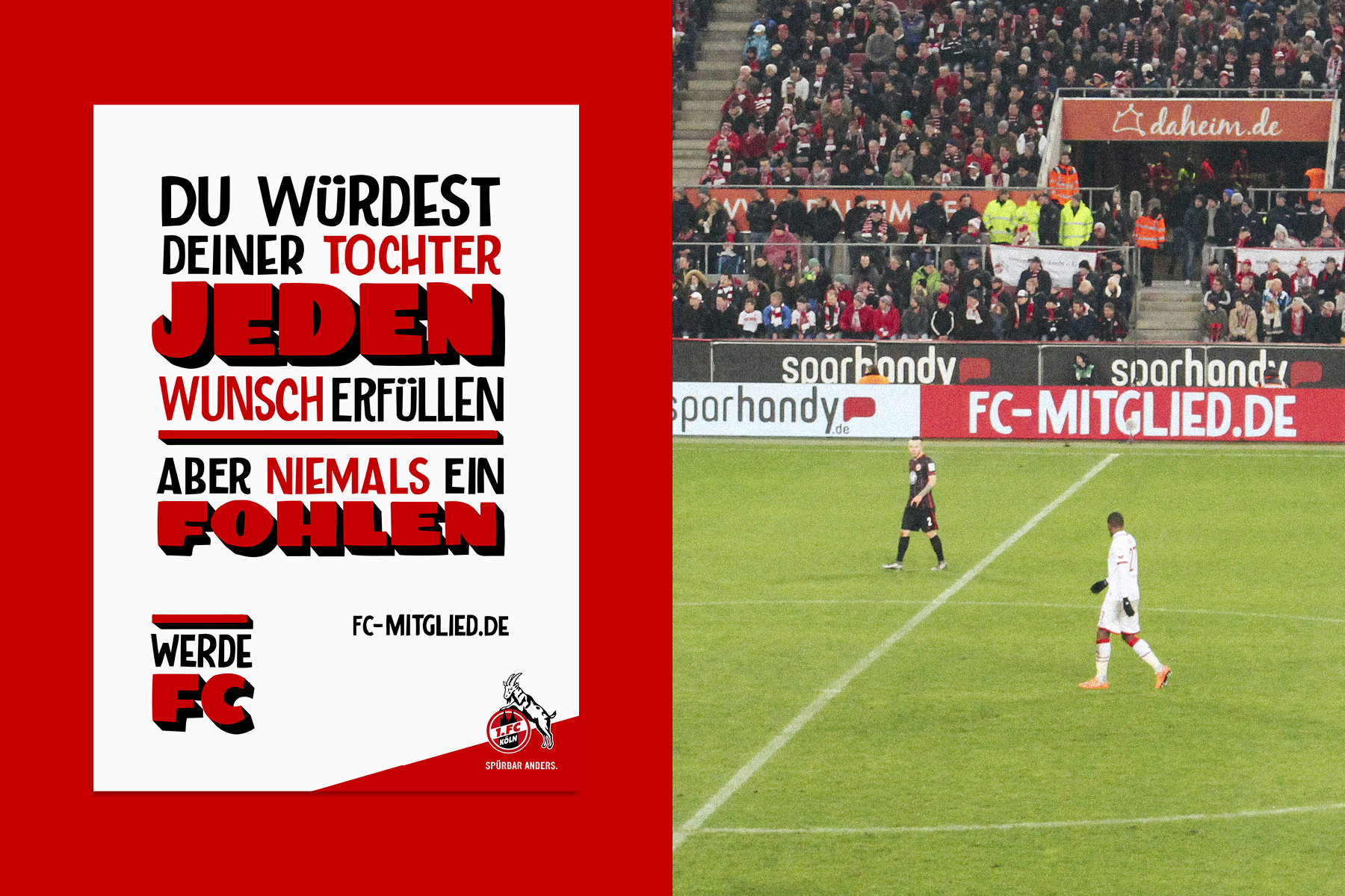 Mitgliederkampagne des 1. FC Köln