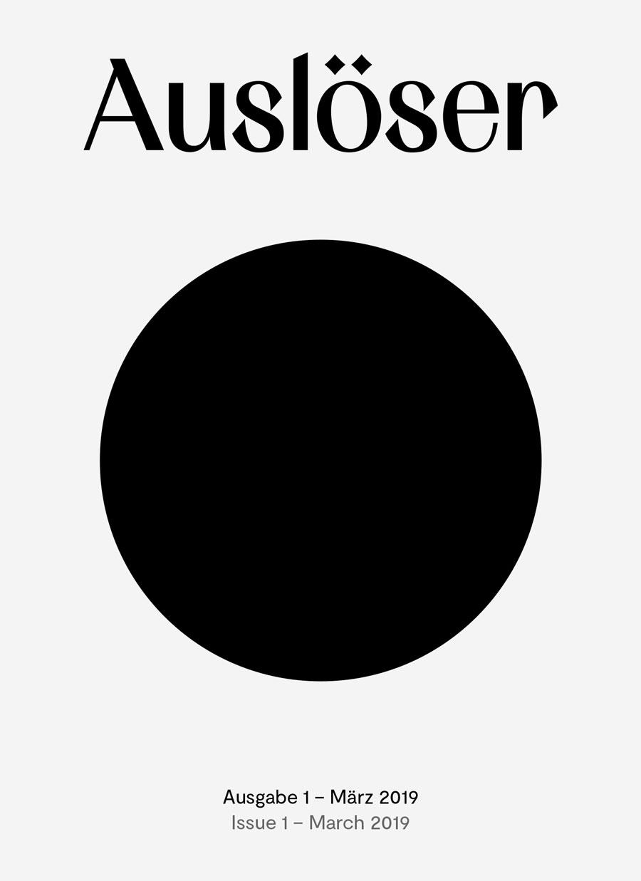Auslöser Magazine Issue 1