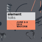 Element Talks / European Design Festival in Warschau
