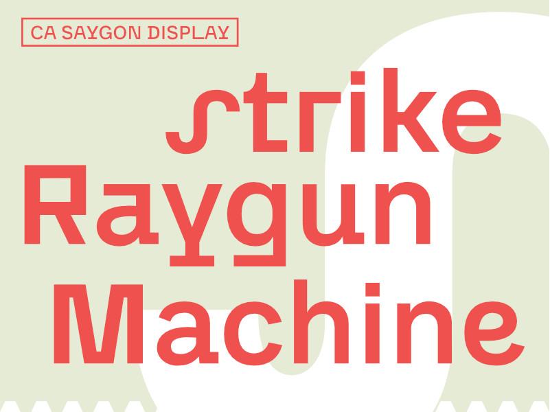 Saygon Display 03
