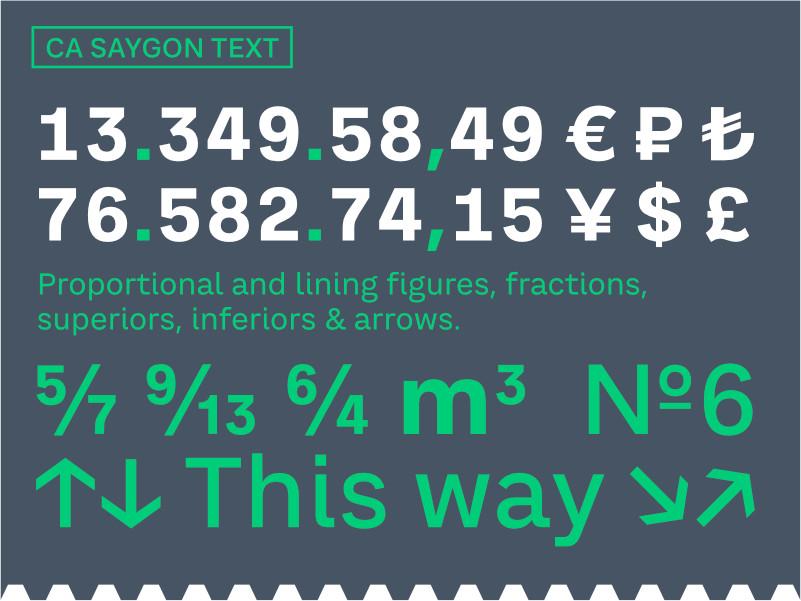 Saygon Text 10