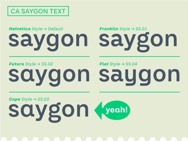 Saygon Text 12