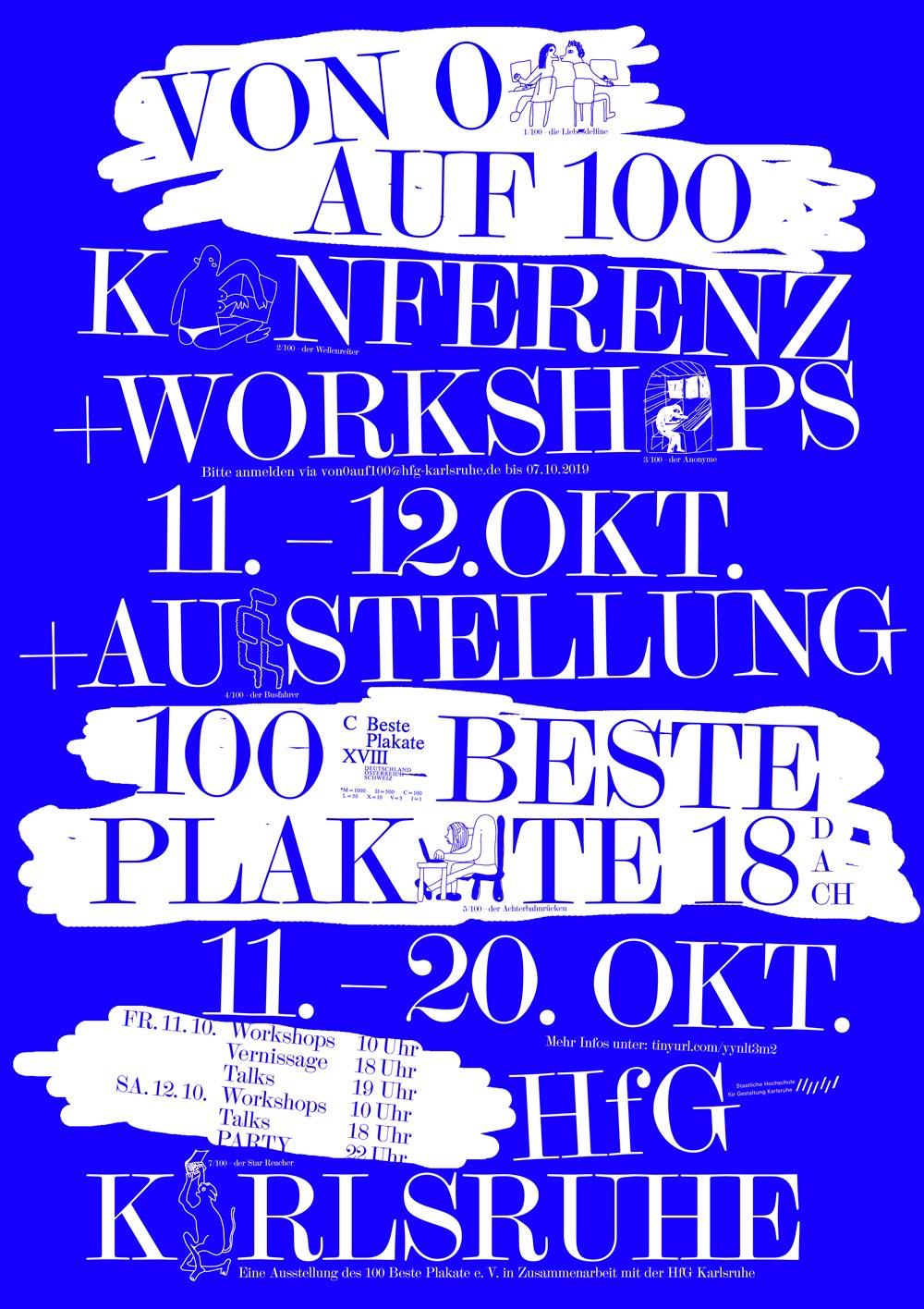 100 beste Plakatze Karlsruhe