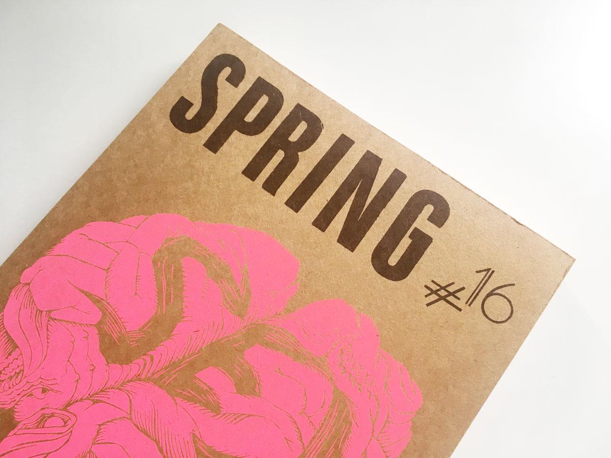 Spring #16 – Sex - Magazin-Release und Ausstellung - slanted
