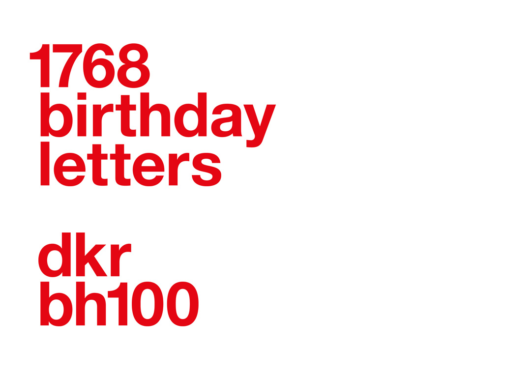 1 768 Birthday Letters 100 Years Of Bauhaus Slanted