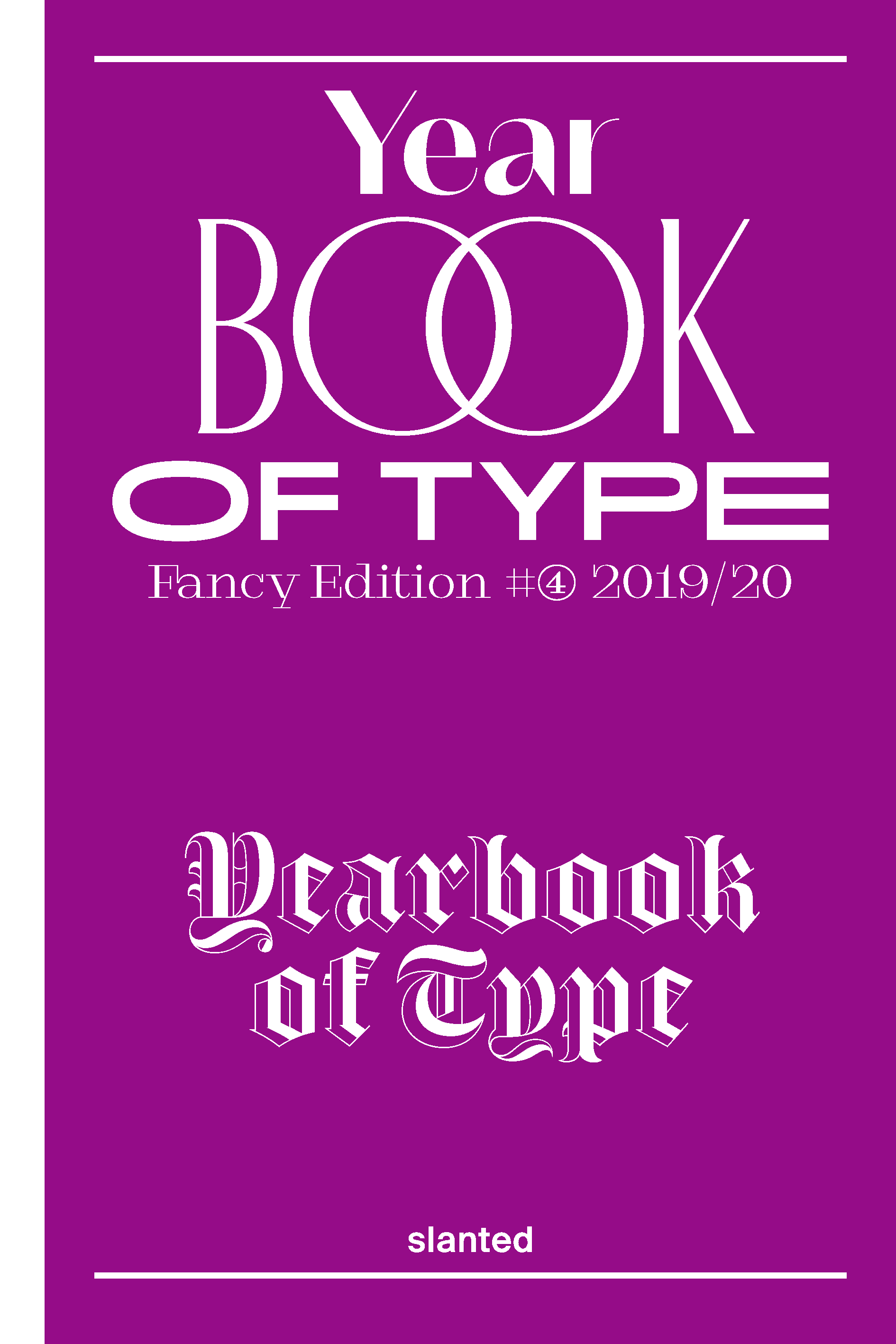 Yearbook of Type 2019/20 Cover