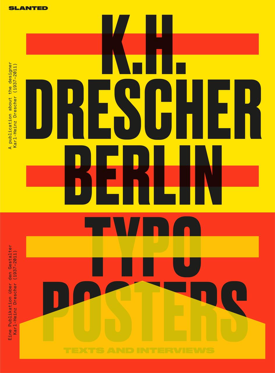 Karl-Heinz Drescher Berlin Typo Posters Cover