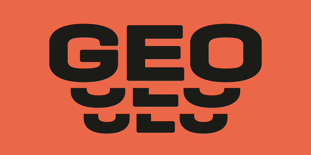 Geogrotesque Expanded Series Emtype Foundry