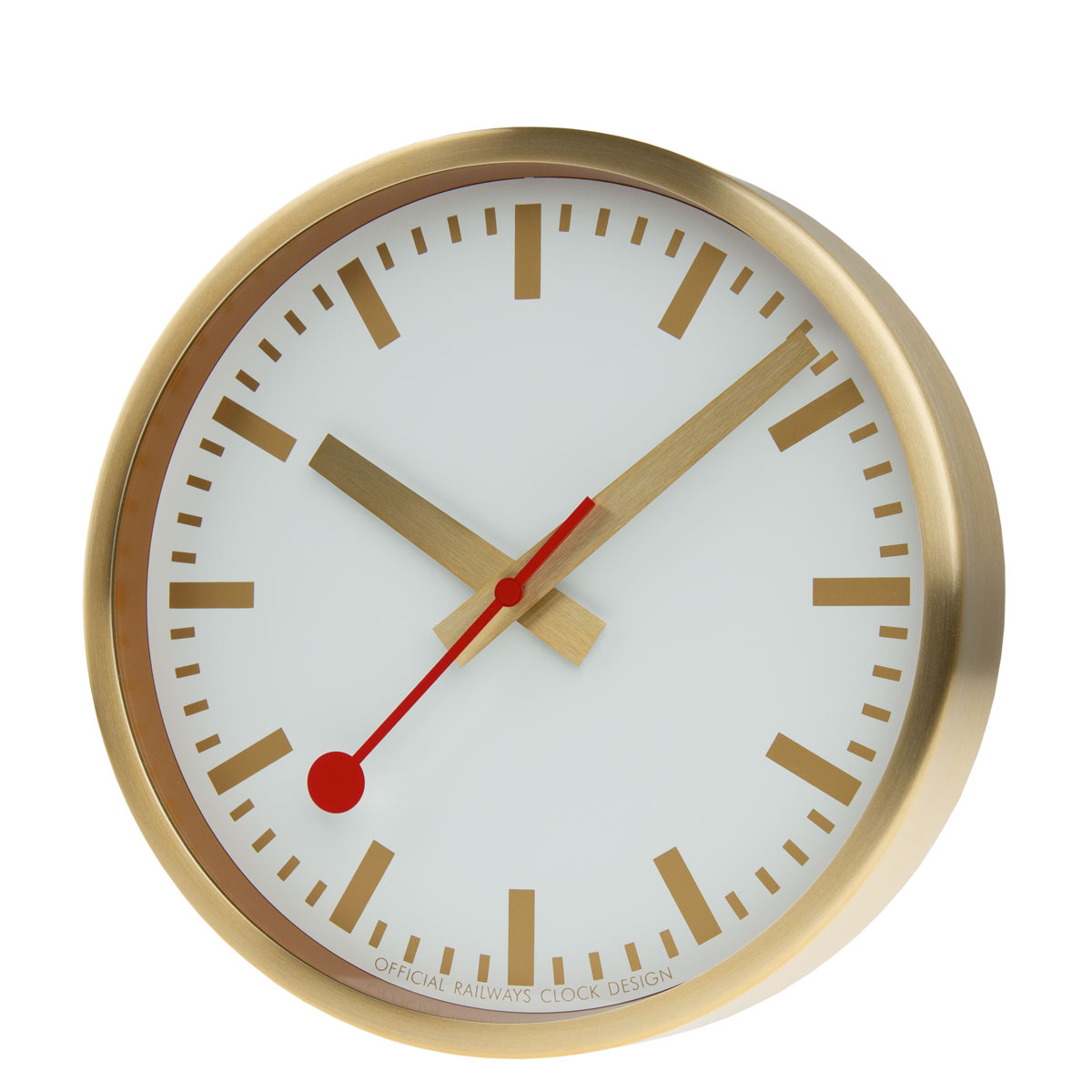 Mondaine-wall-clocks-gold-slanted-web
