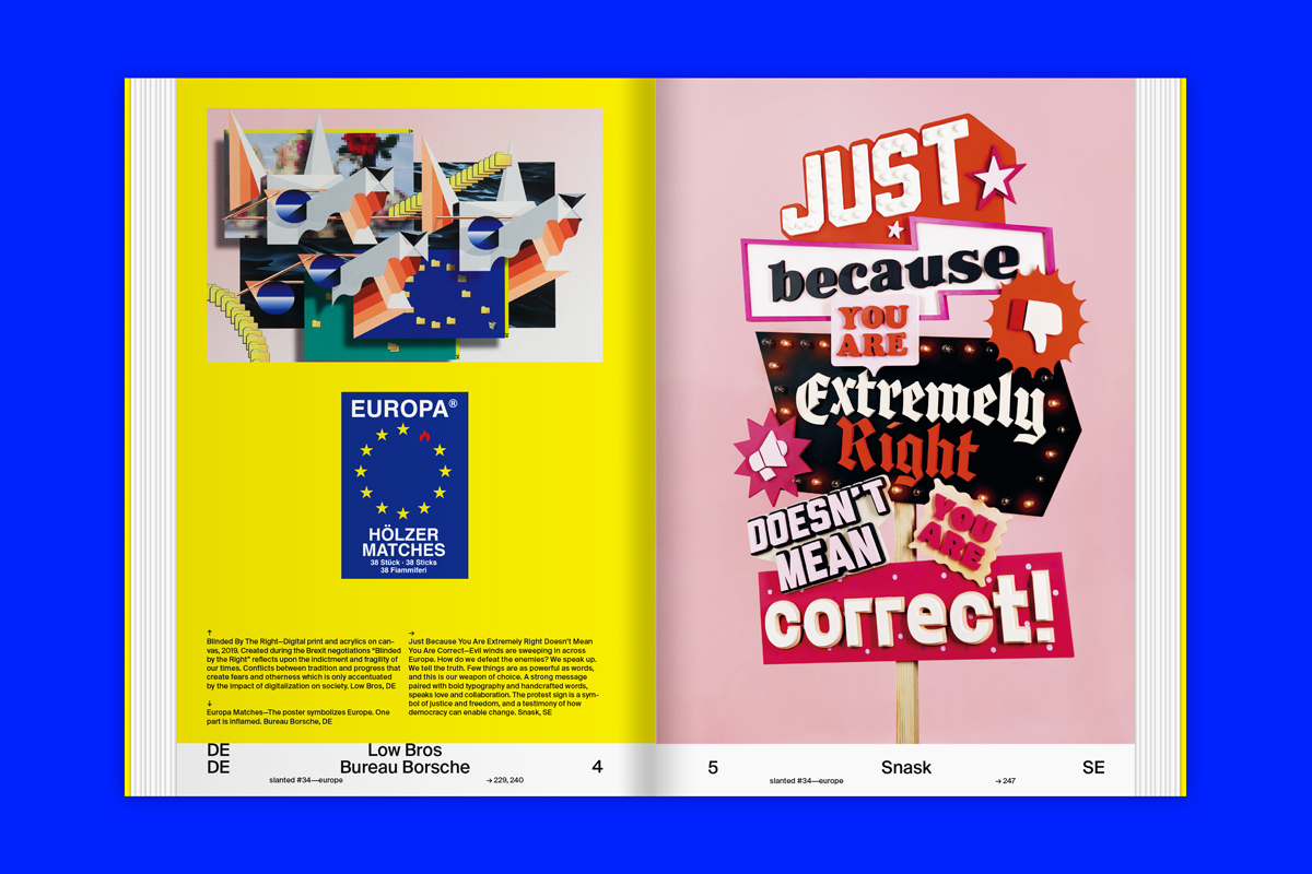 Slanted Magazin #34 – Europe