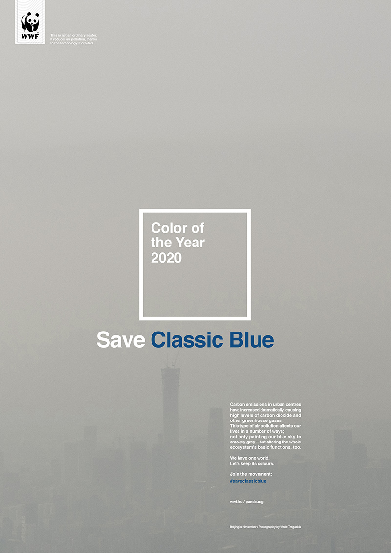 Air Pollution Absorbing Poster