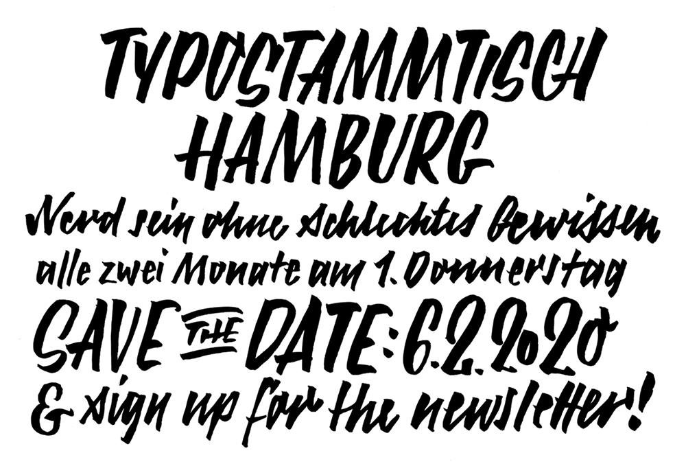 Typostammtisch Hamburg 2020