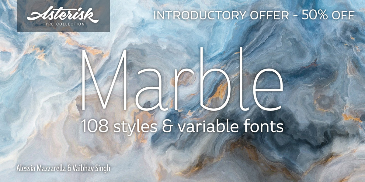 Typeface of the Month: Marble