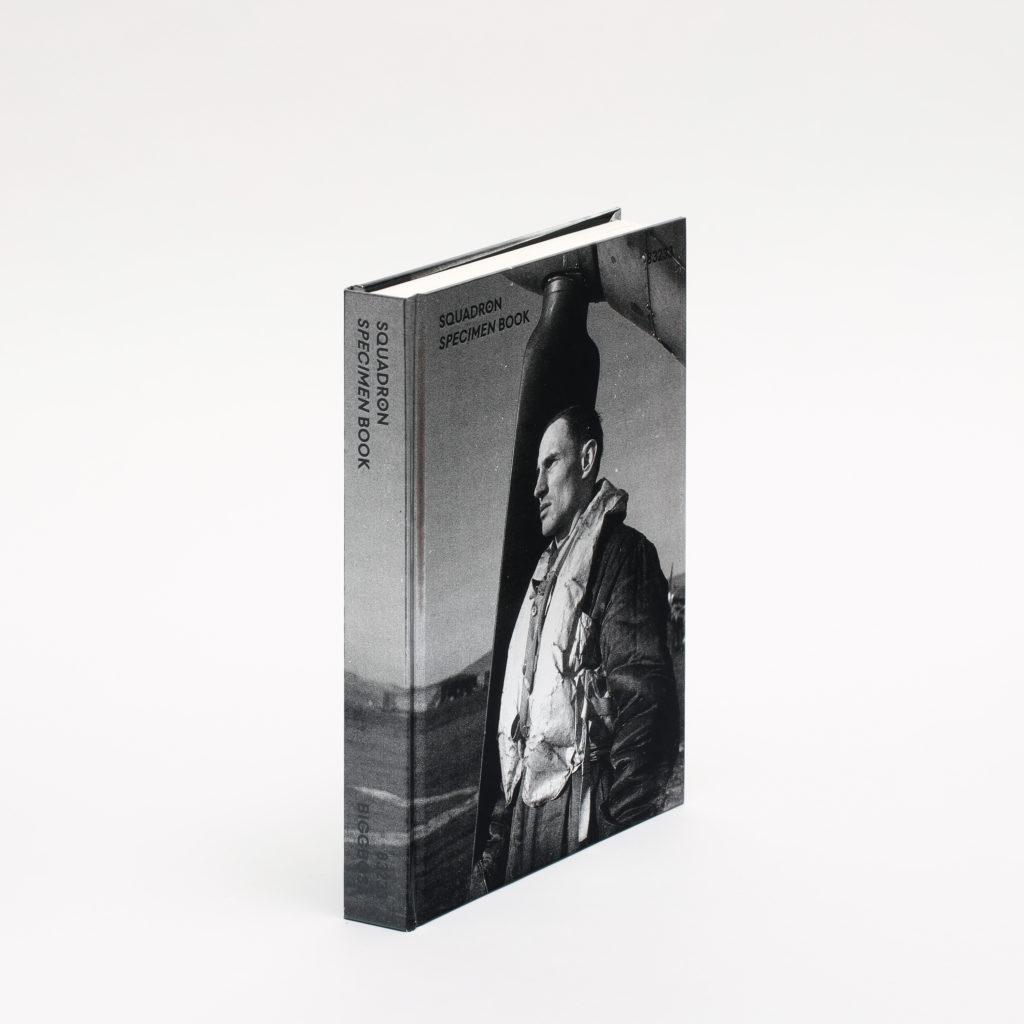 Squadron - Typeface and Specimen Book - slanted