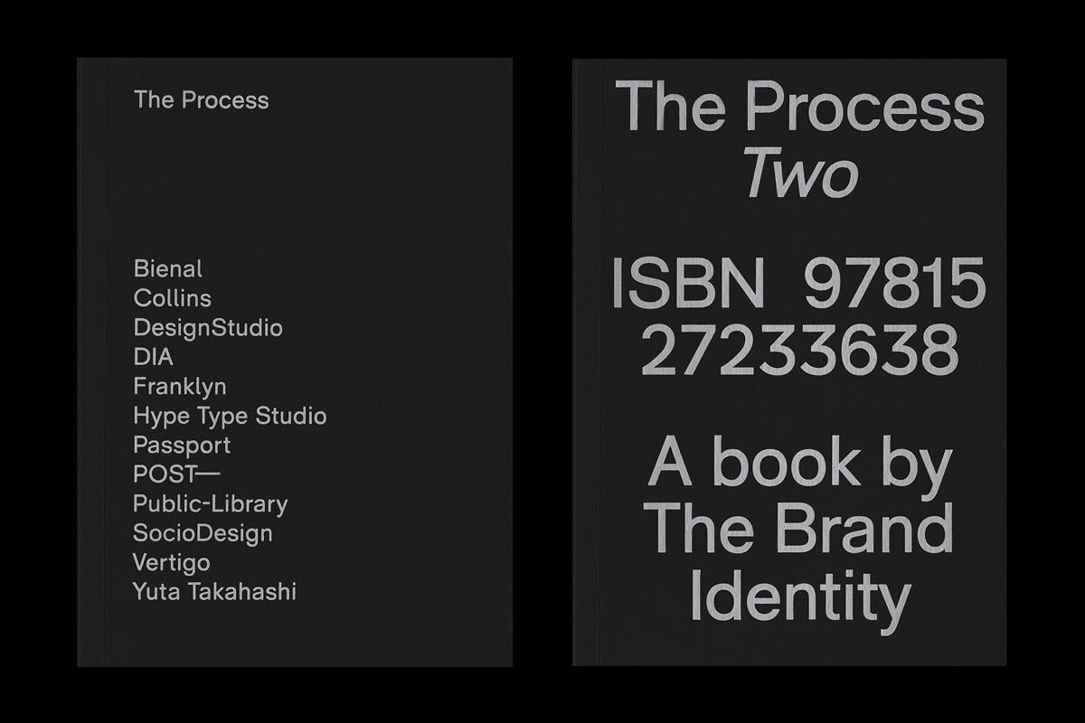 The Brand Identity The Process & The Process Two