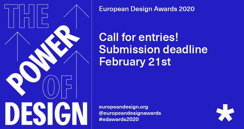 European Design Awards 2020