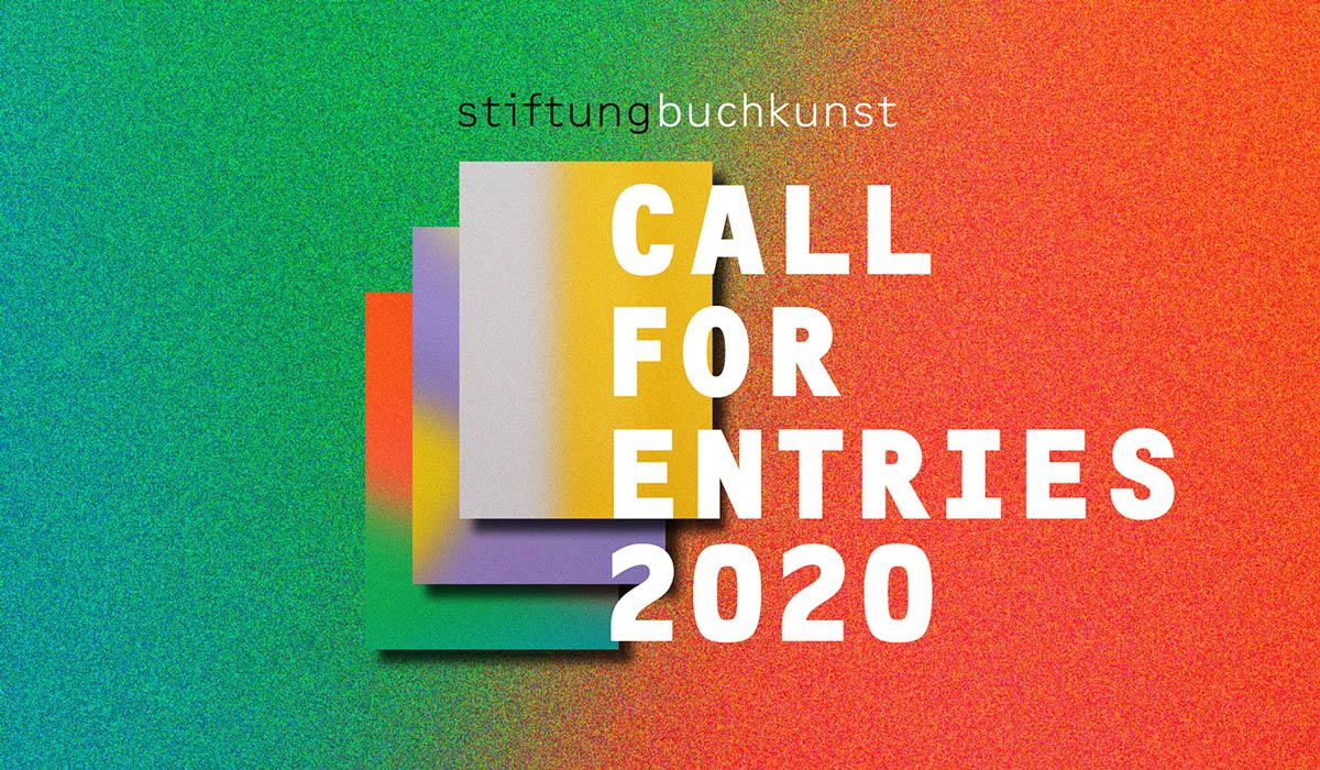 Call for Entries of the Stiftung Buchkunst 2020
