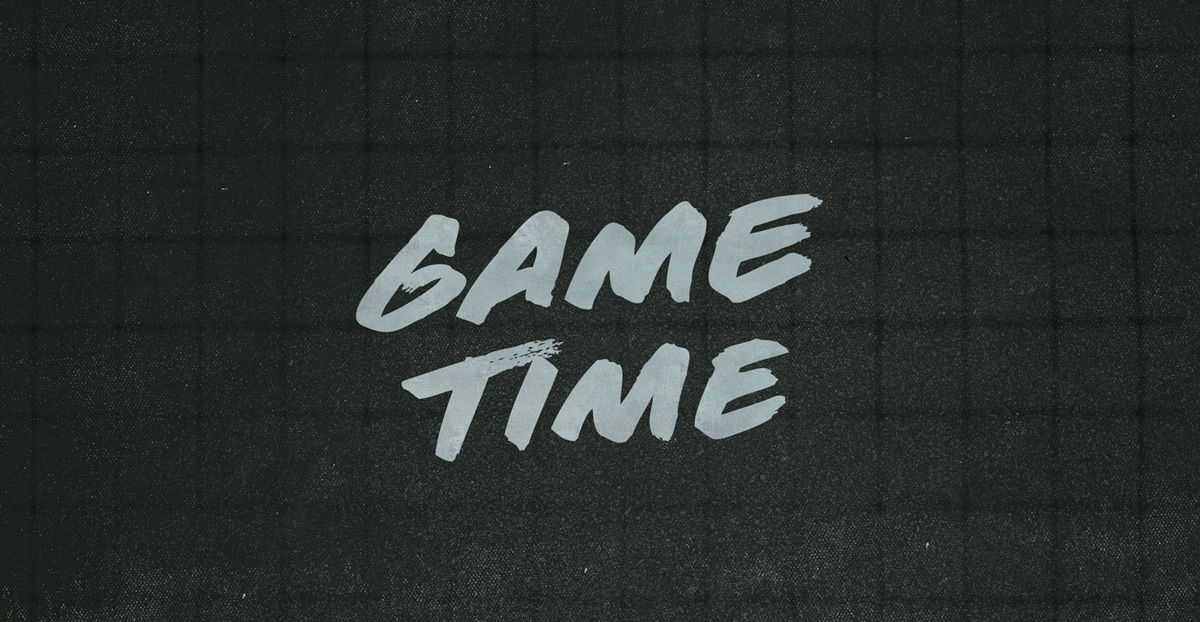 Typeface of the Month: Game Time