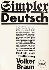 Simpler Deutsch