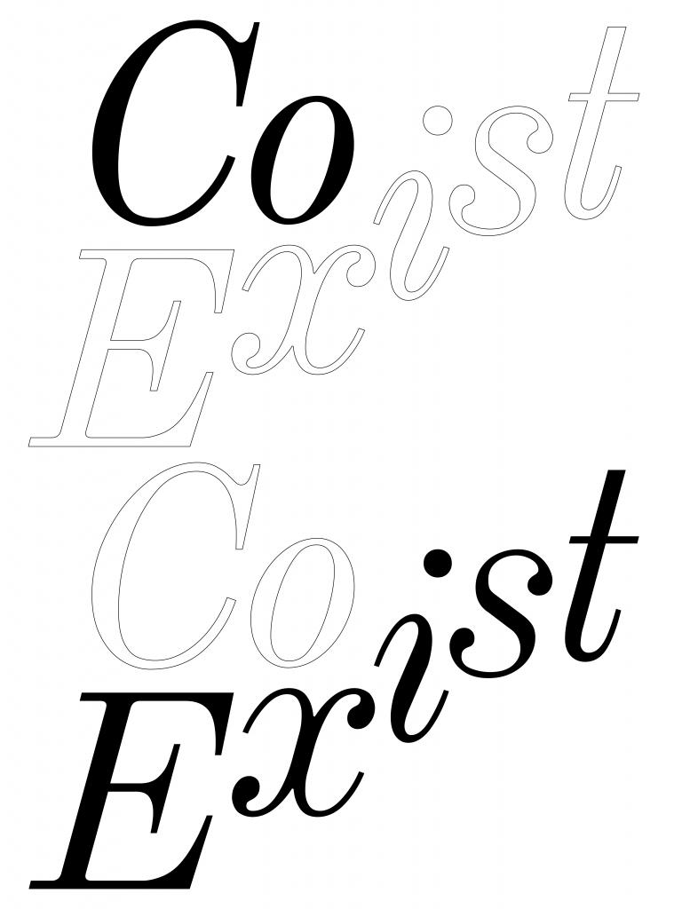 Coexist Coexist