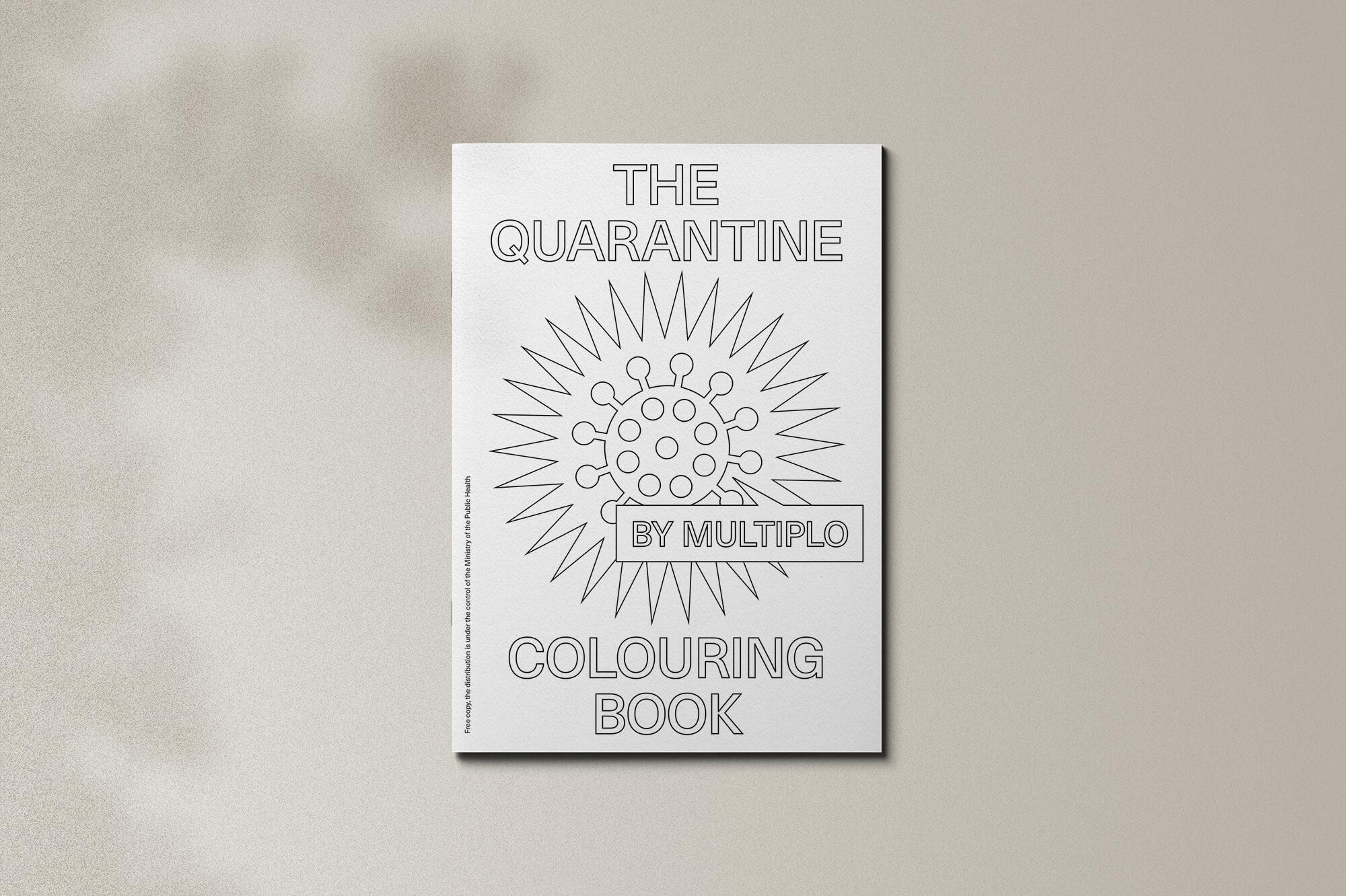 Covid Colouring Book