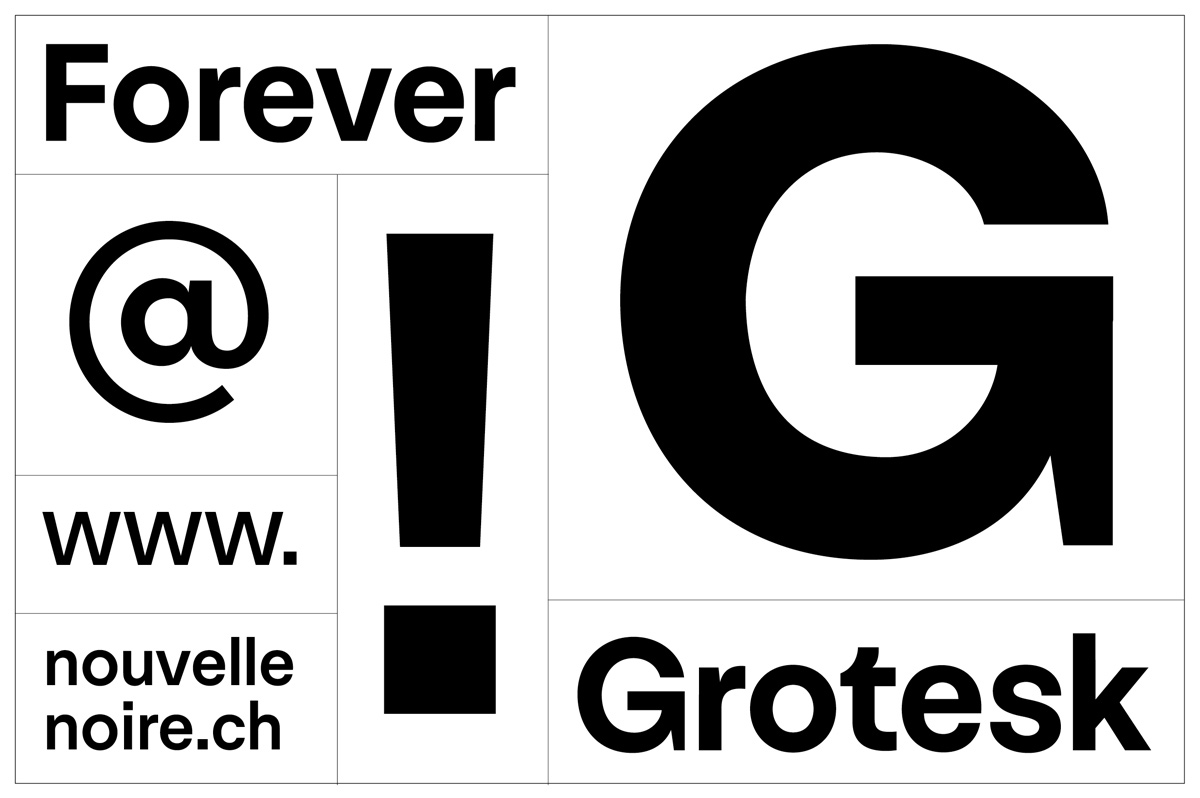 Typeface of the Month: Forever Grotesk