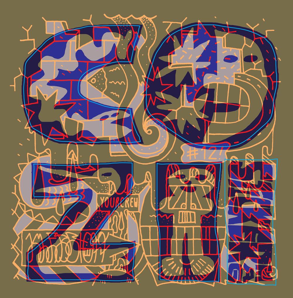 COZI Stickermag Klebstoff #12