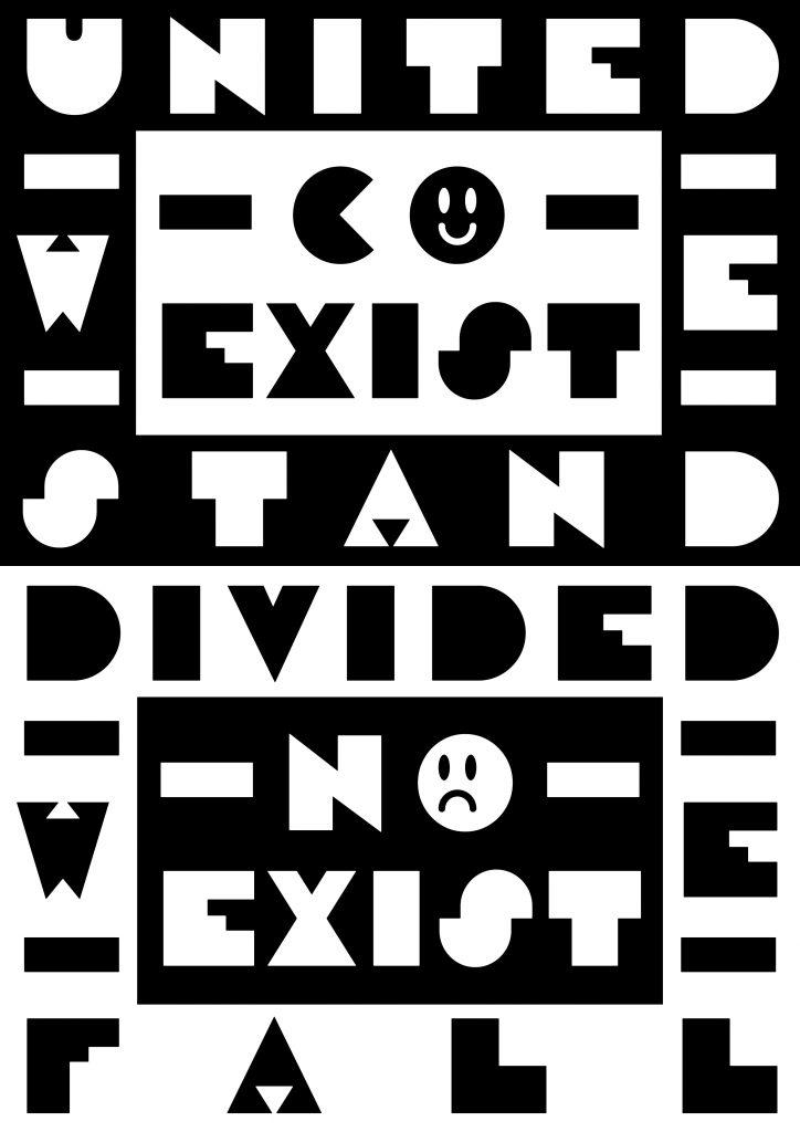 COEXIST / NOEXIST