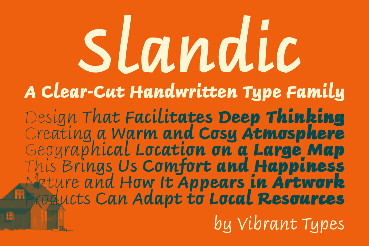 Typeface of the Month: Slandic